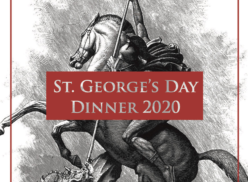 St. George's Day Dinner 2020
