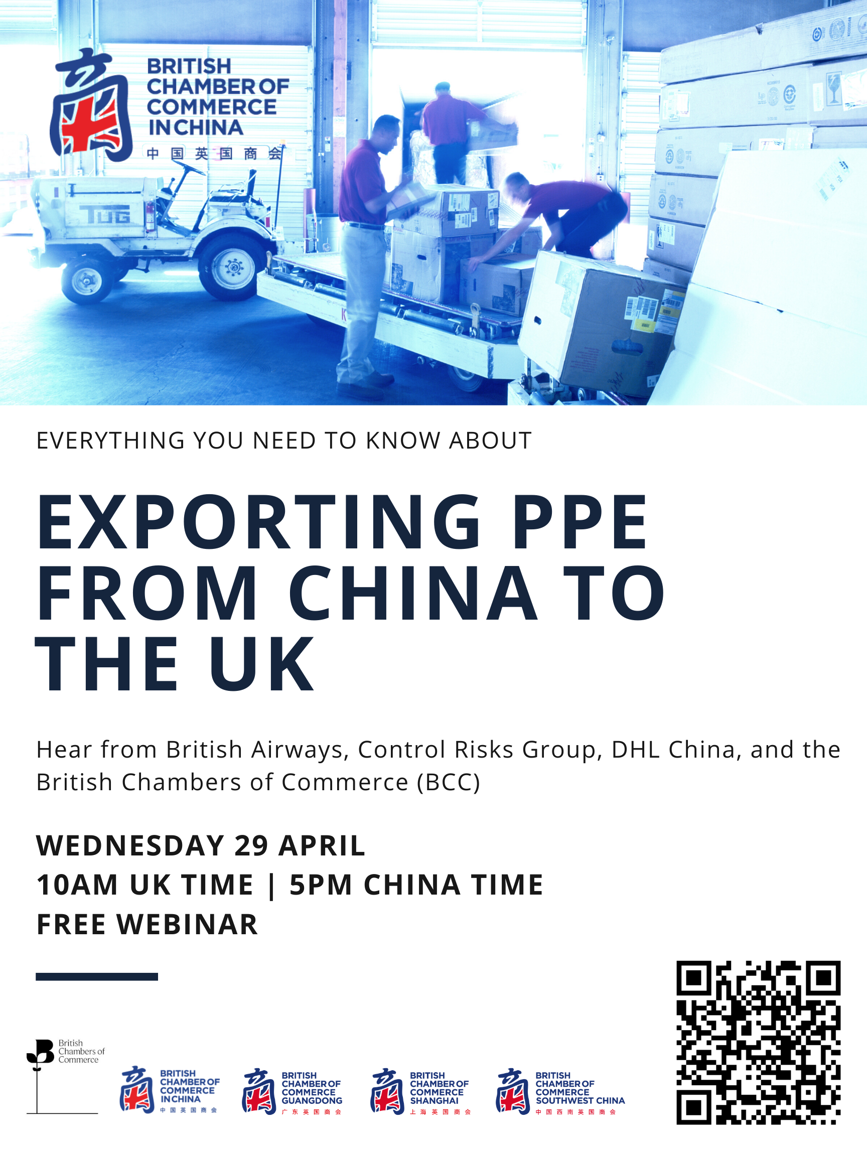 Exporting PPE from China to the UK