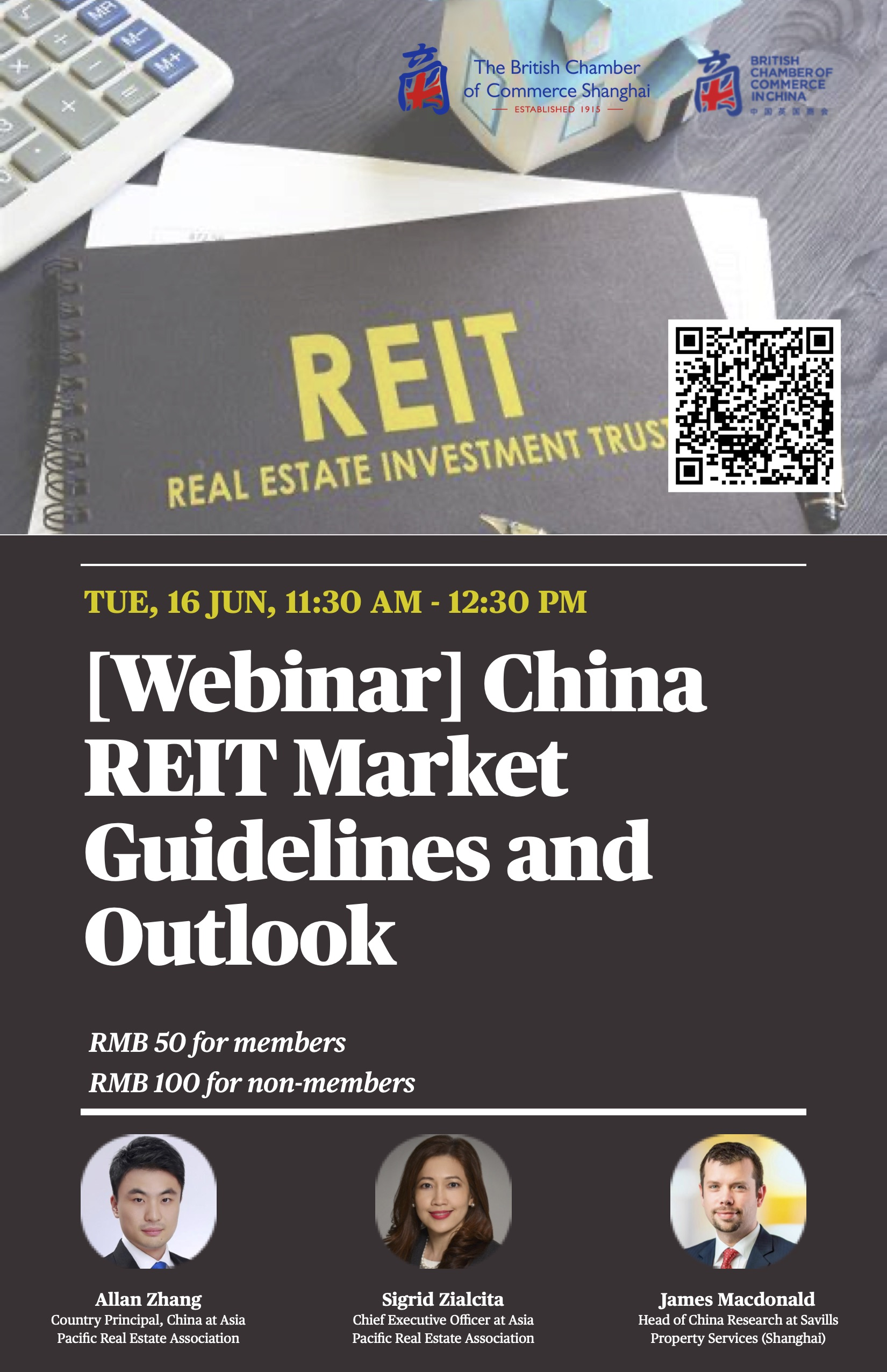 Webinar: China REIT Market Guidelines and Outlook